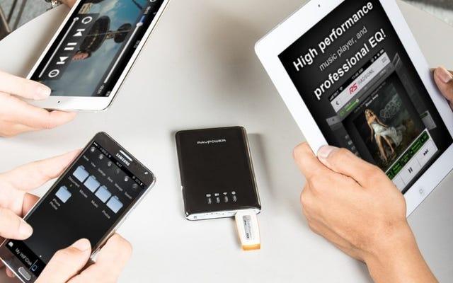 Этот Filehub за 26 долларов позволяет вам получить доступ к SD-картам и флеш-накопителям с вашего телефона