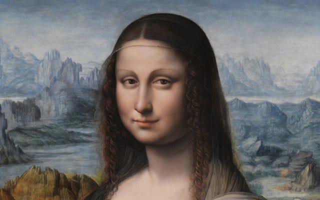 Il s'avère que la Mona Lisa n'est qu'une Mona Lisa