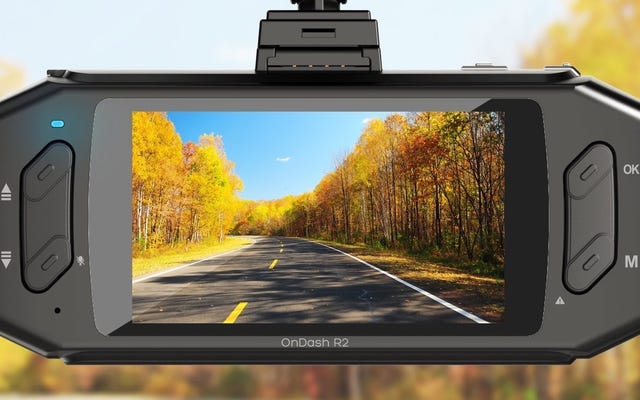 Salga a la carretera con el precio más bajo de todos los tiempos en esta popular cámara Vantrue Dash Cam