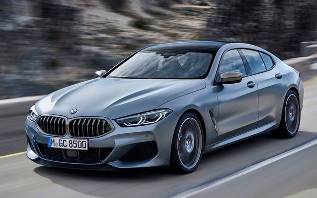 2020 BMW8シリーズグランクーペは本物のセダンヘッド用です