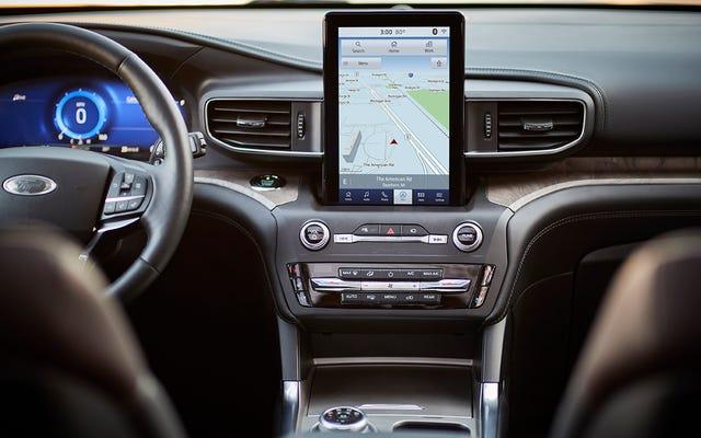 あなたの車のインフォテインメント画面の未来はディストピアとブリークです
