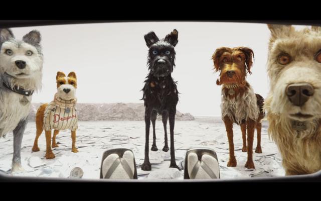 Wes Anderson'ın Isle Of Dogs filminin fragmanında gerçek bir stop-motion bite var