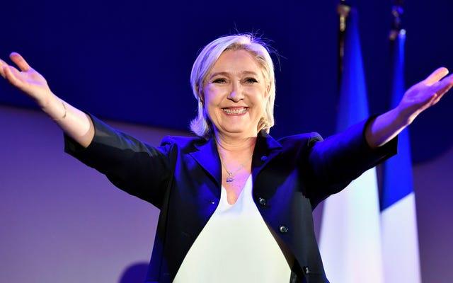 फ्रांस के पसंदीदा क्रिप्टो-फासीवादी आईएसआईएस ट्वीट्स के लिए जेल में तीन साल का सामना कर सकते थे