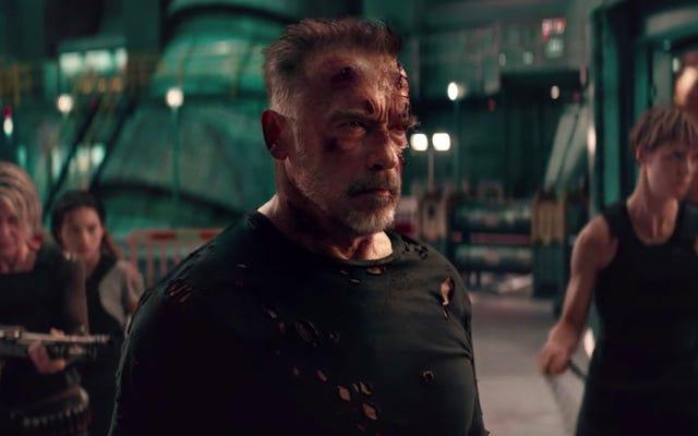 The New Terminator: Dark Fate Trailer è tutto incentrato sulla famiglia
