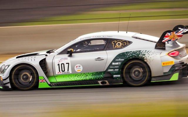 Bentley pracuje nad elektrycznym samochodem wyścigowym Continental dla FIA EGT