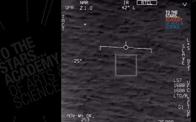 エイリアンはまだおそらく本物であり、それを証明するための海軍からの別のUFOビデオがあります