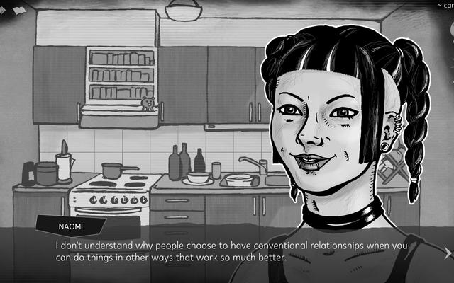 Knife Sisters esplora il complicato argomento del consenso del giocatore-personaggio