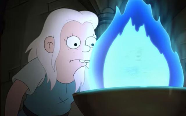 エルフォはこの新しい魔法が解けてティーザーに住んでいます