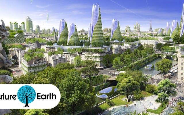 Trascorriamo le prossime due settimane per immaginare la nostra Terra futura