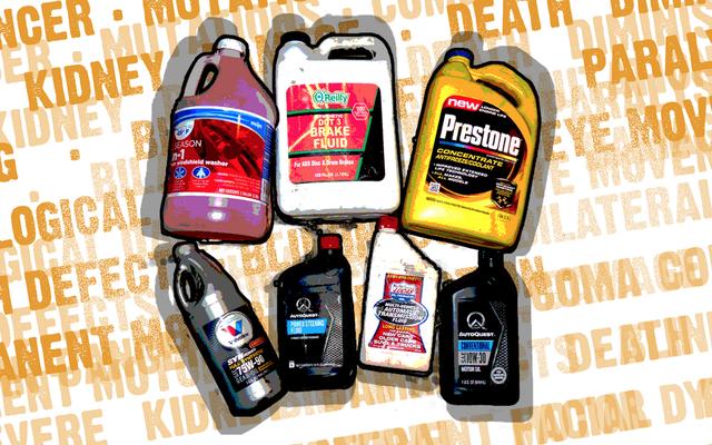 Ecco come tutti i fluidi della tua auto possono ucciderti