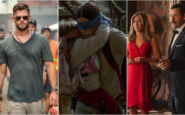Netflixが最も人気のある10本の映画を公開し、それらのほとんどに共通点があります