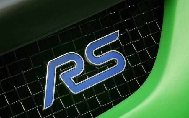 Ford Focus RS 2016: trazione integrale o trazione anteriore?