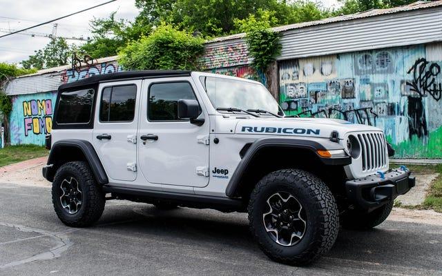 Le Jeep Wrangler 4xe 2021 est tout ce que vous voulez dans une Jeep, mais avec 21 milles d'autonomie électrique supplémentaire