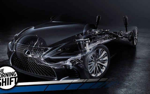 Una nuova Lexus LS affronterà il mercato delle berline più duro di sempre