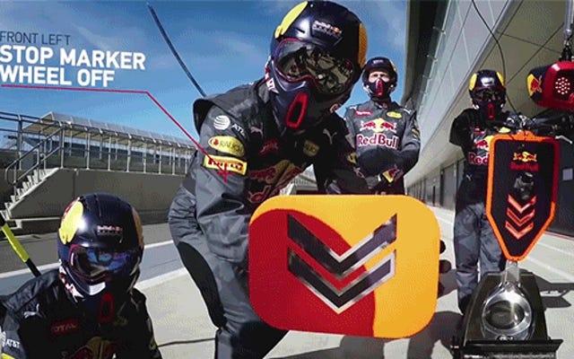 ¿Qué está pasando realmente en los dos segundos de una parada en boxes de Fórmula 1?