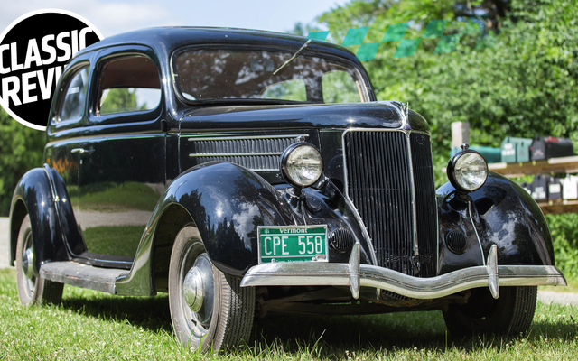 私は1936年のフォードモデル48を運転する前にジムを打つべきでした