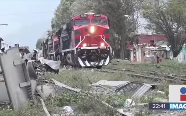 In dieser mexikanischen Stadt gibt es so viele Zugüberfälle, dass Unternehmen aufhören, durchzukommen