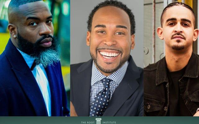Дарнелл Мур, Дэвид Джонс и Стивен Паргетт исследуют чернокожих мужчин, союзничество и состояние наших сообществ в Корневом институте