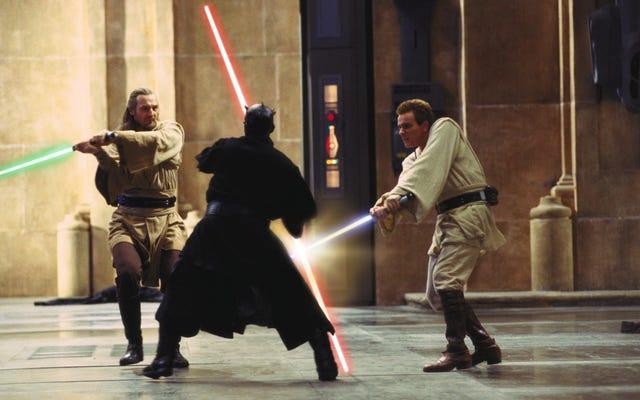 ทีมงานของศิลปิน VFX ใช้ CGI ของ Star Wars Prequels