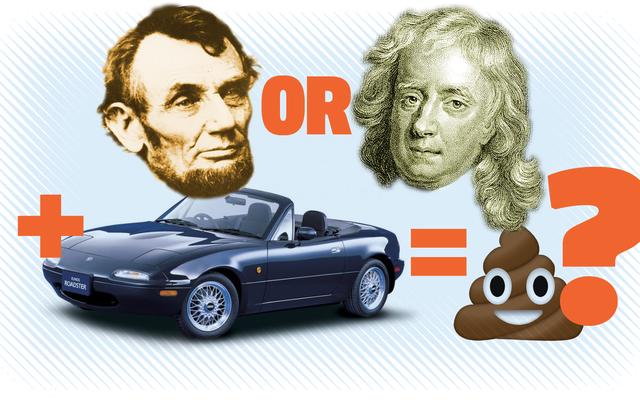 簡単な質問:エイブラハムリンカーンとアイザックニュートンのどちらが最初にズボンを脱ぎ捨てるでしょうか?