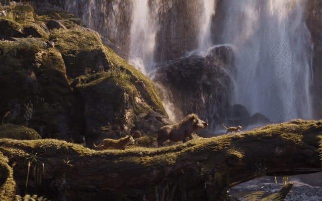 ゴージャスな新しいライオンキングの予告編では、サークルオブライフはこれほど良く見えたことはありません