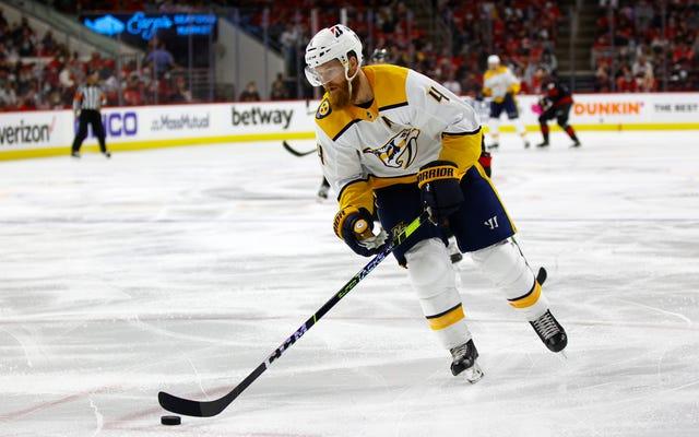 Ryan Ellis của Preds hướng đến Philly khi các đội có những động thái cuối cùng trước khi dự thảo mở rộng NHL