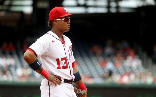 Starlin Castro a suspendu 30 matchs pour avoir enfreint la politique de la MLB en matière de violence domestique