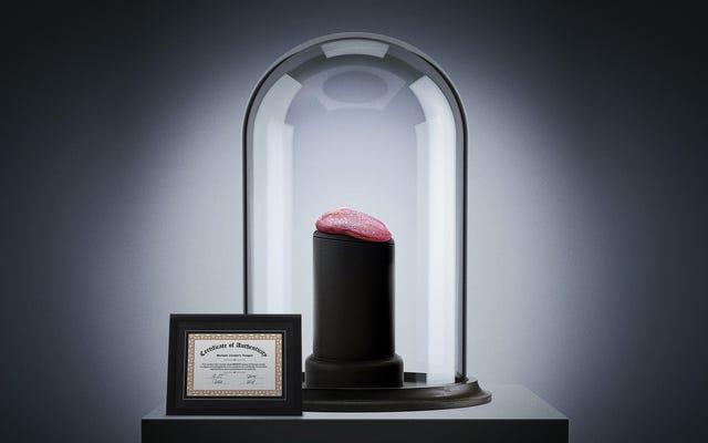 ジョーダンのゲームで使用された舌はオークションで138万ドルで売られました