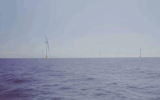 Первая в мире плавучая ветряная электростанция только начала вырабатывать электроэнергию