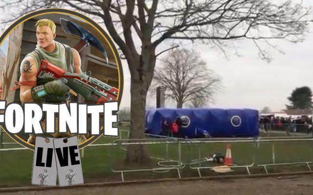"""""""Lễ hội"""" Fortnite do Vương quốc Anh tổ chức kết thúc trong sự hỗn loạn hoàn toàn, có thể đoán trước được"""
