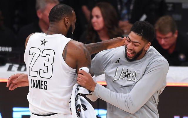ESPN mange sa propre queue sur la faible idée de LeBron James et Anthony Davis ensemble