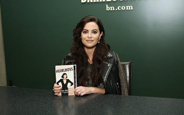 Główna rola w Girlboss, programie Netflix o Sophii Amoruso, jest opisywana jako `` anarchista ''