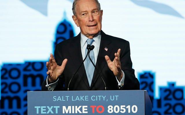 Bloomberg thề sẽ chấm dứt giải quyết các cáo buộc quấy rối tình dục bằng các thỏa thuận không tiết lộ. Warren đáp lại, 'Con trai, tôi đoán.'