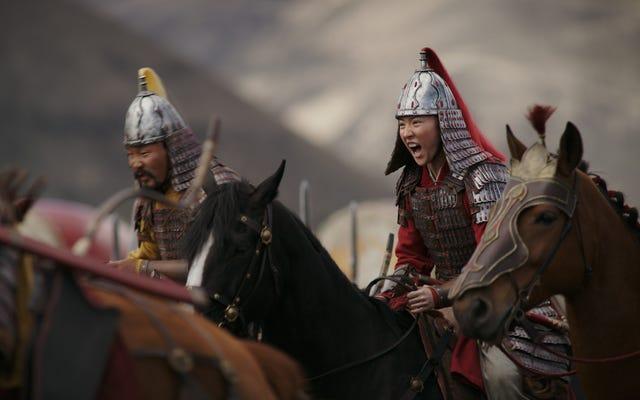 Disney menghadapi kehebohan yang meningkat karena berterima kasih kepada lembaga pemerintah China di Mulan