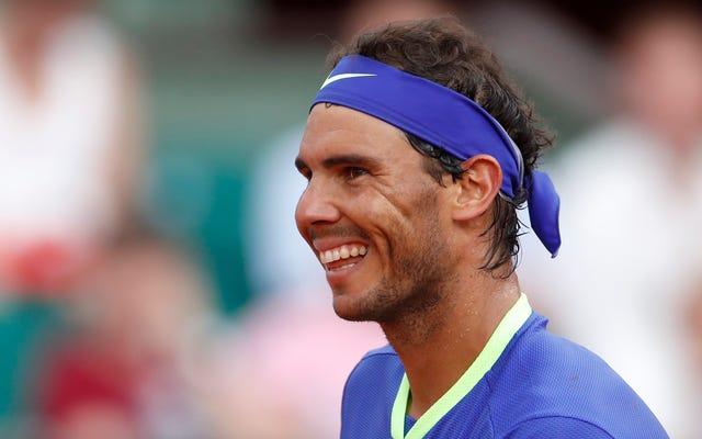 Rafael Nadal Bir Adamın Ruhunu Bedeninden Çıkardı