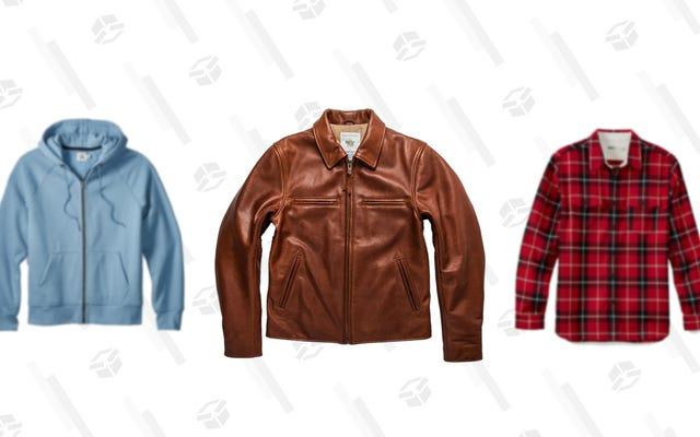 Belanja Obral Pakaian Luar Musim Semi Huckberry untuk Hoodies, Flanel, dan Jaket Diskon Hingga 60%