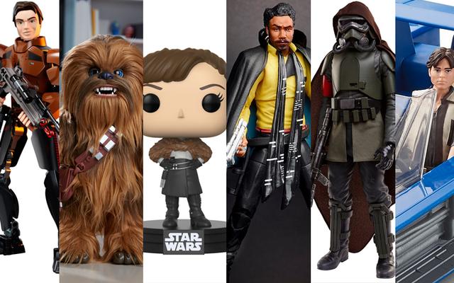 Tous les jouets Solo: A Star Wars Story disponibles à minuit ce soir
