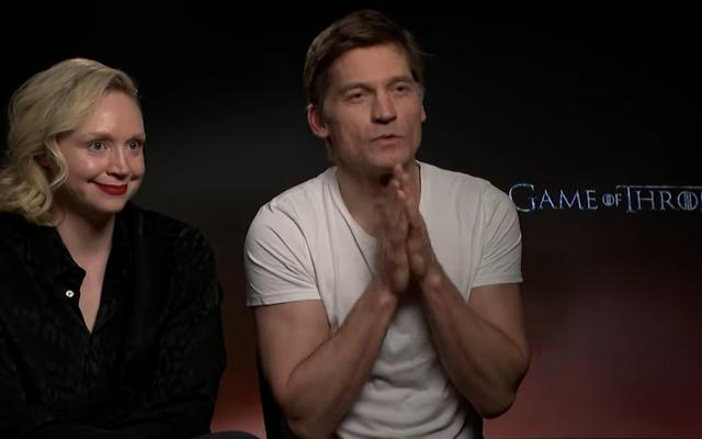 Game Of Thronesのキャストは、オーストラリアのスラングで手を試し、PizzaShapesで嘲笑します