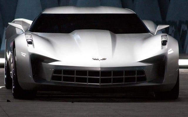 Montrez-nous les prototypes de Corvette 2007 à moteur central, GM