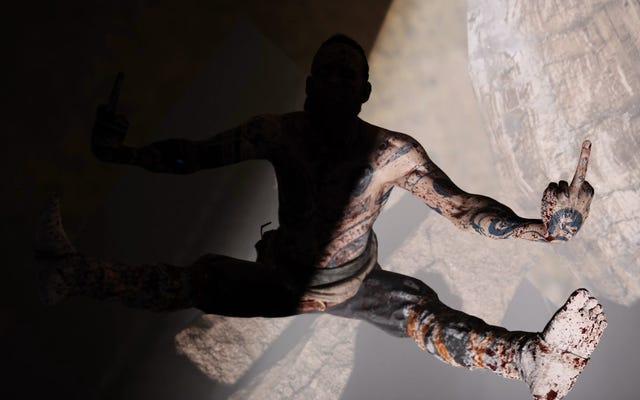 Un hacker découvre que le méchant de God of War vous donne un doigt du milieu secret