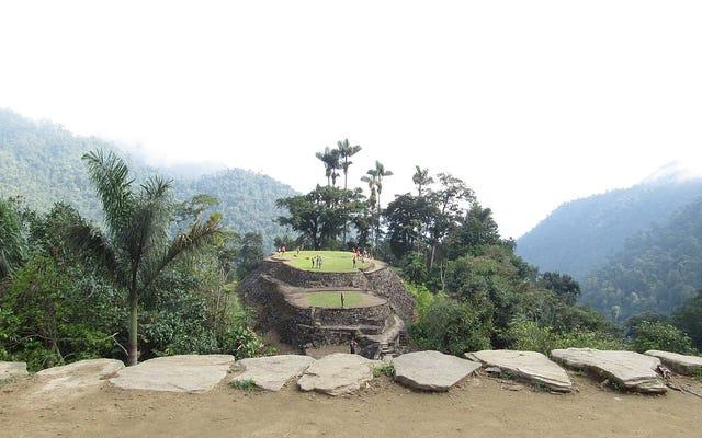 Mereka menemukan sisa-sisa kota yang hilang di wilayah Kolombia tempat legenda El Dorado dipalsukan