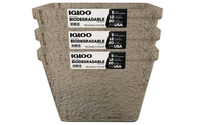 Pendingin Bebas Busa Baru Igloo Terbuat Dari Bubur Pohon Biodegradable