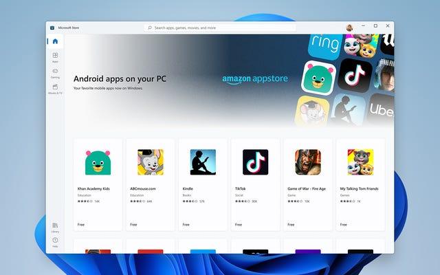 Windows 11上のAndroidアプリは、AppleのシームレスさをPCにもたらす可能性があります