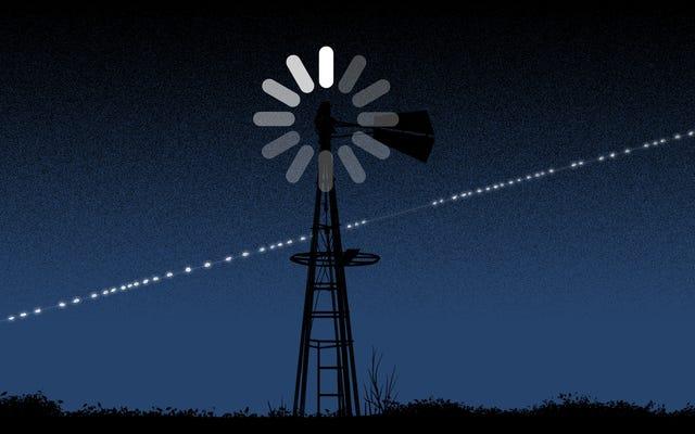 衛星インターネットはデジタルデバイドを解決しません