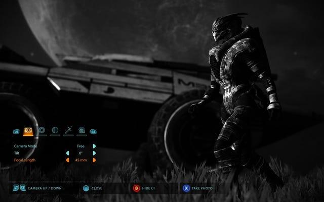 Mass Effect LegendaryEditionにはフォトモードがあります