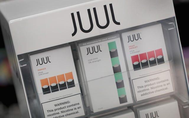 Juulはあなたの最愛のマンゴーとキュウリのポッドのオンライン販売を停止しています