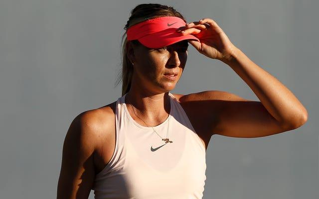Maria Sharapova ABD Açık Joker Kartını Aldı, 15 Aylık Doping Yasağından Beri İlk Grand Slam Oynayacak