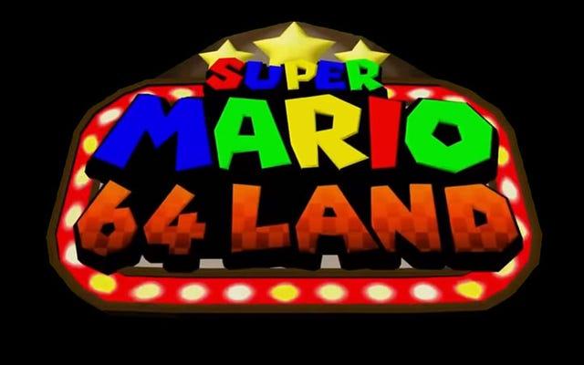 Super Mario 64 Land เกมมาริโอที่สร้างโดยแฟน ๆ จำนวนมหาศาลได้วางจำหน่ายแล้ว