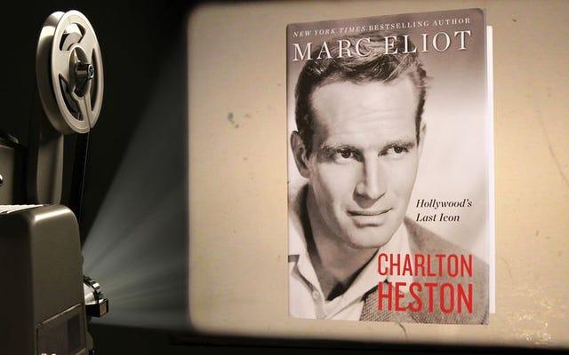 チャールトン・ヘストンの「冷たくて死んだ手」も彼の映画も、新しい伝記で期限を迎えることはありません