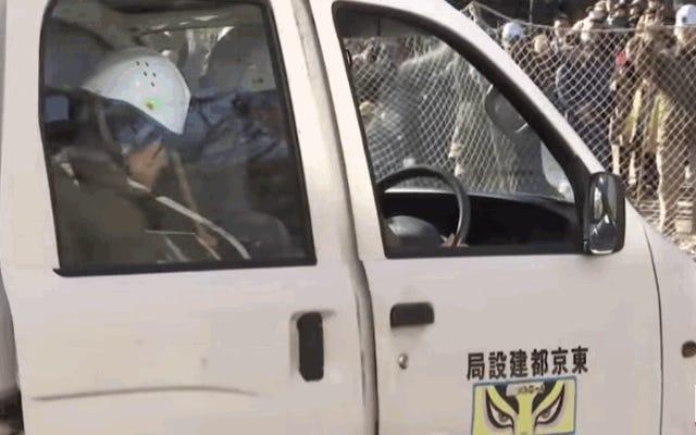 Le foret de zèbre échappé de ce zoo japonais est un triomphe créatif à couper le souffle